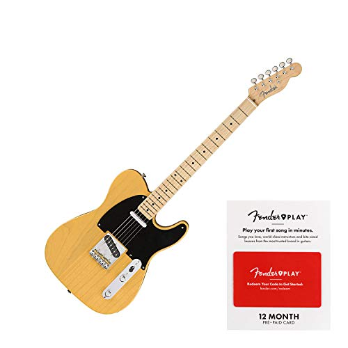 Fender American Original '50s Telecaster Electric Guitar Butterscotch Blonde