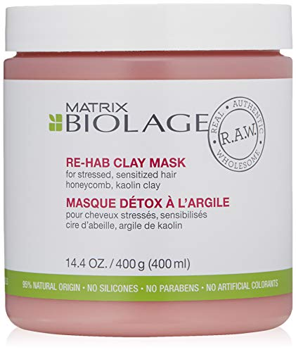 Matrix Biolage R.A.W. Re-Hab Clay Mask, per stuk verpakt (1 x 400 ml)