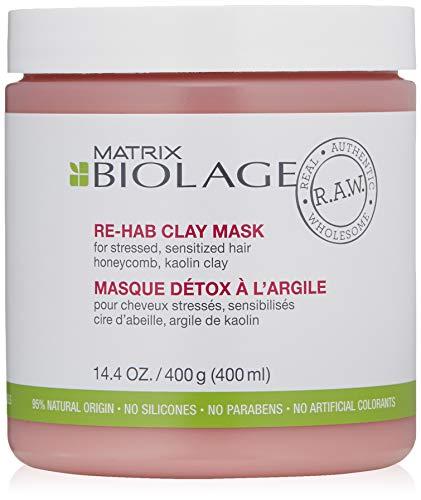 Matrix Biolage R.A.W. Re-Hab Clay Mask, 1er Pack (1 x 400 ml)
