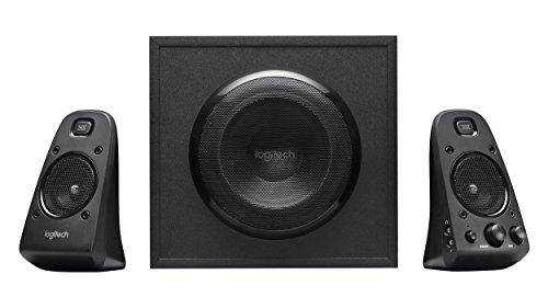 Logitech Z623 400 Watt Home Speaker System, 2.1 Speaker System, Black