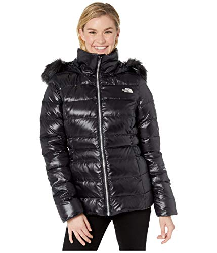 The North Face Women's Gotham Jacket II, TNF Black Matte Shine, Large