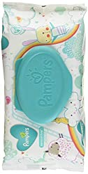 Baby Wipes, Pampers Sensitive Water Baby Diaper Wipes, Hypoallergenic and Unscented, 1X Pop-Top Pack