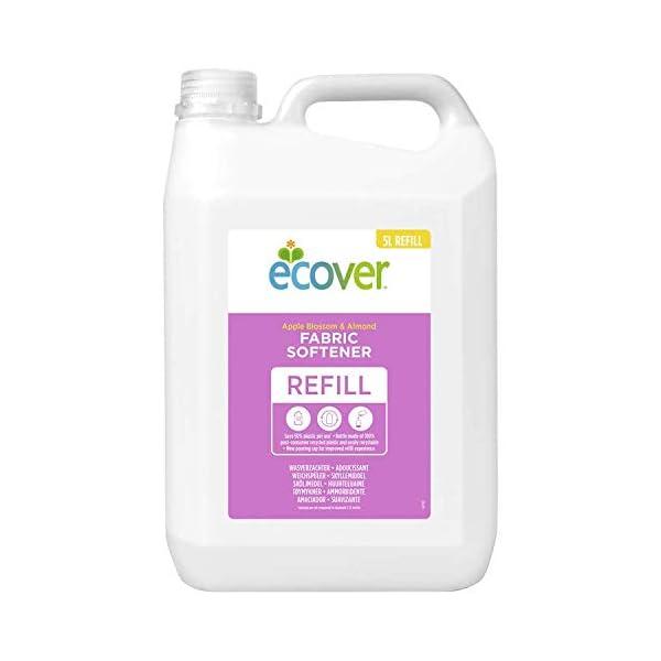 Ecover Fabric Softener Refill Apple Blossom & Almond, 166 Wash 1