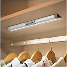 Automatic Motion Sensor Lighting with Eye-Protection Design, Germany Osram Beads for Under Cabinet Wireless Lighting, LED Rechargeable Night Lighting for Wardrobe Pantry Light Closet Light
