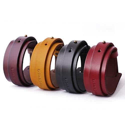 MXH armband heren lederwaren lederen armbanden sieraden modesieraad, Bourgondië