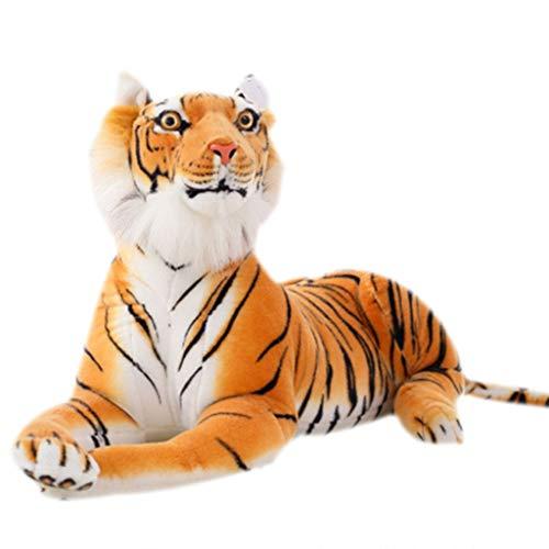 AERVEAL Rompecabezas, Suave Peluche de Tigre de Sumatra, Almohada de Juguete de Felpa, Animal de Dibujos Animados, patrón Grande, muñeca Kawaii, Juguetes de algodón