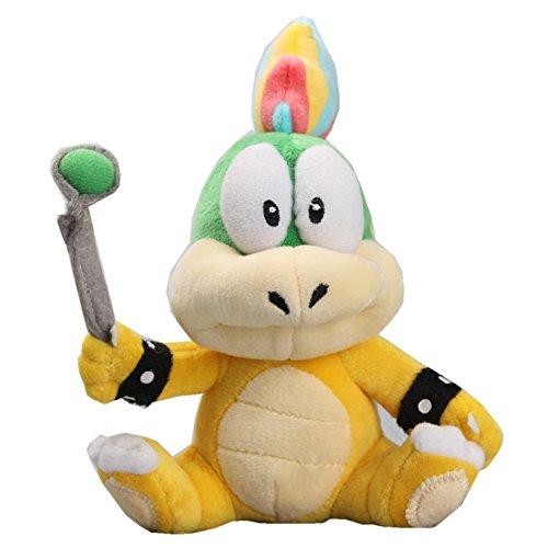 uiuoutoy Lemmy Koopa Plush 8'' Super Mario Bros. Doll Toy
