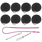 8 Pieces Drawstring Cords Replacement...