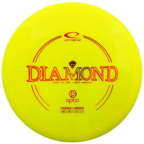 Latitude 64 Opto Line Diamond Light Fairway Driver Golf Disc [Colors and stamp will vary] - 145-159g