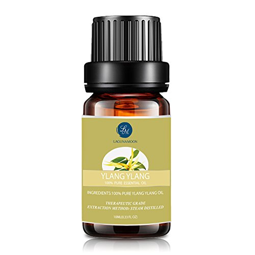 Aceite esencial de ylang ylang de Lagunamoon, 10 ml
