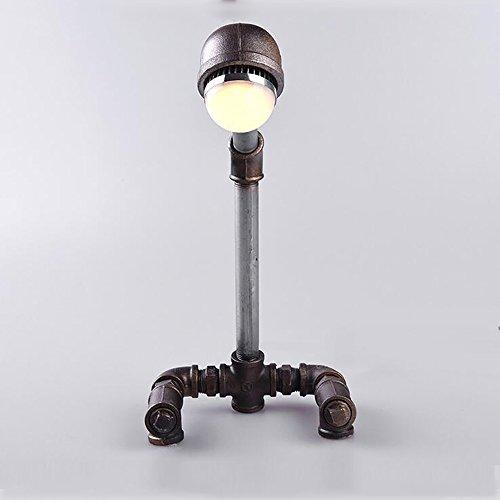 TOYM UK Lampe de bureau créative tube d'eau lampe de chambre d'étude lampe LED (Couleur : Lumière chaude)