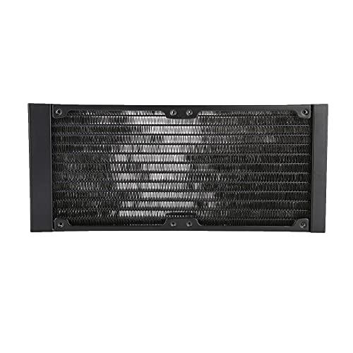 HRNAKDFKL IchSR-LFGF95 - Radiatore per PC CPU e computer, 9,4 pollici, in alluminio