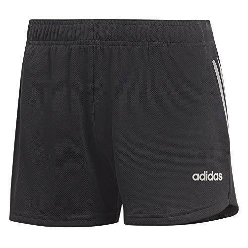 adidas W D2M 3S KT SHT Pantalones Cortos de Deporte, Mujer, Black/White, XS