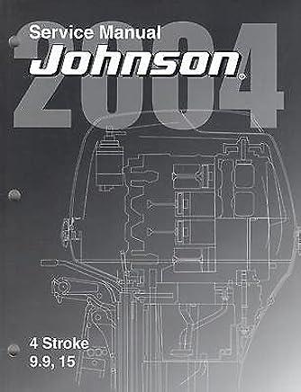 Johnson Outboard 15 Hp Manual Books