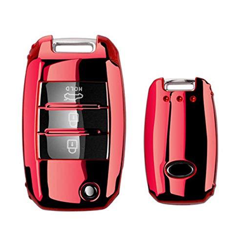XUHRA Sleutelschaal, Mooie Volledige cover Nieuwe Zachte koffer koffer voor auto shell Voor Kia Rio QL Sportage Ceed Cerato Sorento K2 K3 K4 K5 Auto Accessoires