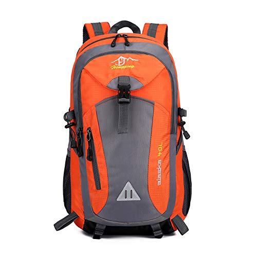 LERC 40L Mochila de Viaje Unisex Impermeable para Hombres Mochila Deportiva al Aire Libre montañismo Senderismo Camping Mochila Mochila de Moda Bolsa para portátil