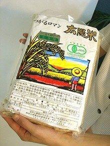 有機JAS認定 太陽米(つがるロマン) 白米  2kg