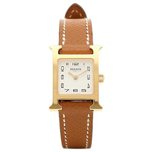 (エルメス) HERMES エルメス 時計 HERMES HH1.101.131/UGO1 W039350WW00 Hウォッチ TPM 17mm レディース腕時計 ドゥブルトゥール/イエローゴールド [並行輸入品]