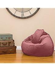 Regal In House Velvet Bean Bag Chair Medium -Bale Pink