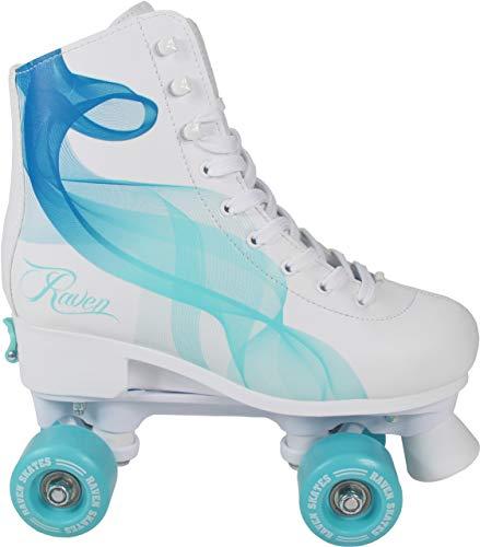 RAVEN Rollschuhe Roller Skates Trista/Serena verstellbar 2019 (Serena Navy/Mint, 39-42(24,5cm-26,5cm))
