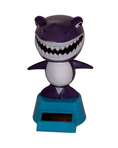 2X Solar Hai Shark Haie Fisch Wackelfigur Solarfigur Figur
