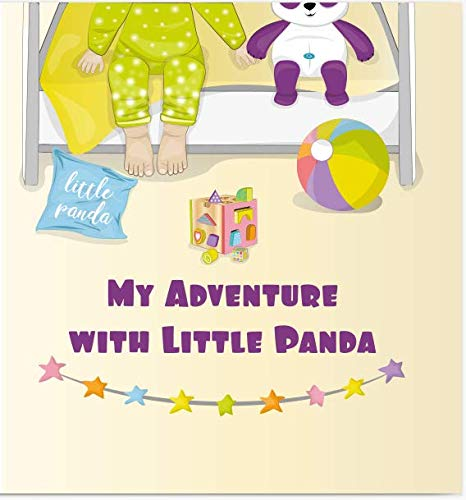 Personalized Baby Books, Custom Name Book for Kids,Children's Storybook and Baby Shower Gift,Unisex Baby Gift for Boy and Girl,My Adventure with Littlle Panda