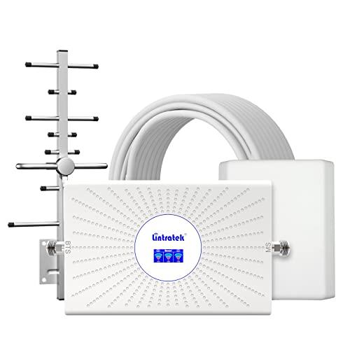 Lintratek Amplificador señal teléfono movil Tri-Banda B8...