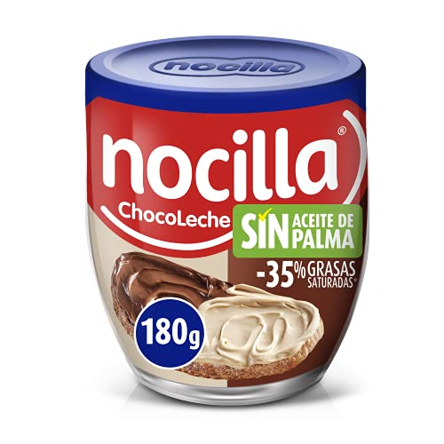 Nocilla Chocoleche 180g - Sin aceite de Palma: Crema de Cacao Natural...