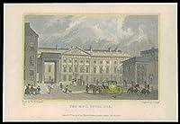 1831ロンドン - ミントタワーヒル(100)のオリジナルのアンティークプリントビュー