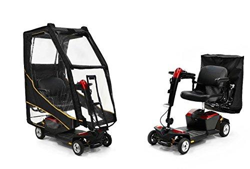 ScooterPac ScooterPac Universalüberdachung für Elektromobil, zusammenklappbar