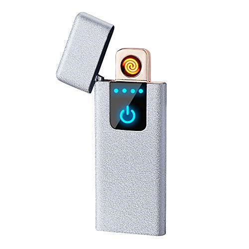 Rechargeable Flameless Windproof Double Side Slim USB Lighter $5.26 (40% Off)