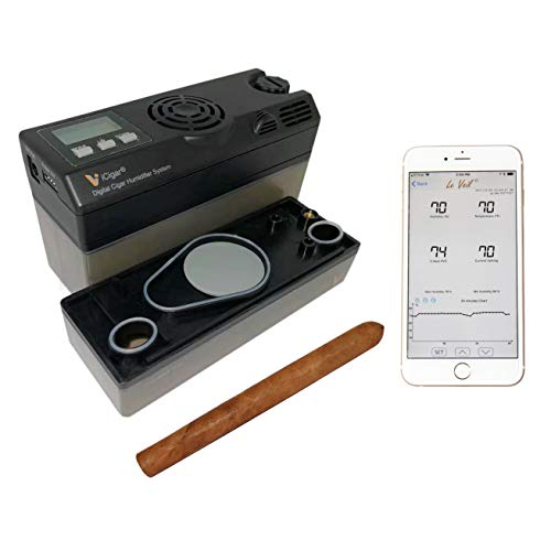 Le Veil iCigar Intelligent Electronic Cigar Humidifier (Humidifier+BT Adapter)