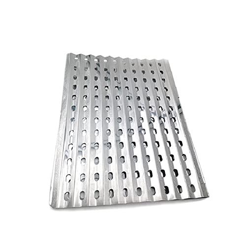 YNLRY Tabla de barbacoa de acero inoxidable para exteriores, anti incrustación, campamento de cenizas, plegable, picnic, accesorios de barbacoa portátiles (color : tabla de barbacoa)