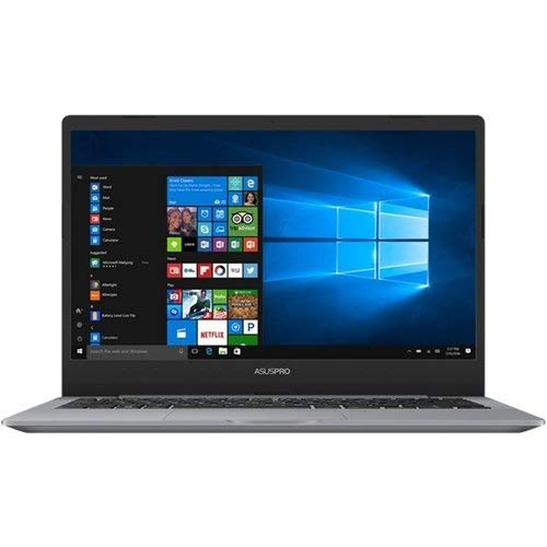 "ASUSPRO P5440 Thin and Light Business Laptop, 14"" Wideview Full HD, Intel Core i7-8550U, GeForce MX130, 16GB RAM, 512GB SSD, Fingerprint, Backlit KB, Windows 10 Pro, 10hrs Battery Life, P5440UF-XB74"