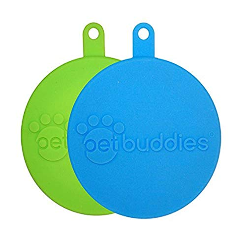 Best Review Of Pet Buddies PB2310 Dog/Cat Food Silicone Can Covers (2 Pack)