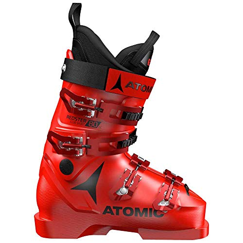 Atomic Redster Club Sport 80 LC, Skischuhe Unisex Adult, Rot - Rot/Schwarz - Größe: 33 EU