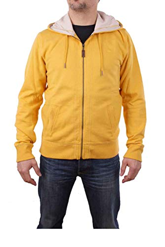 Timberland Hombre Sudadera Exeter River Hoody Talla M - algodón, amarillo, poliéster algodón 40% % algodón poliéster 60% 40 %, hombre, M
