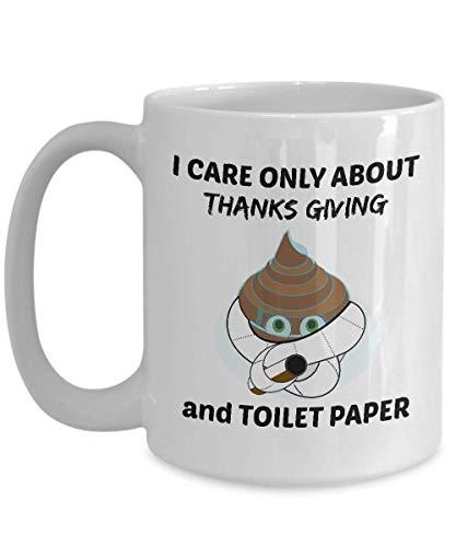 N\A Taza de café de Regalo Cinco DE Mayo - Solo me Importa el Cinco de Mayo y el Papel higiénico