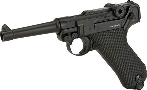 Evike KWC P08 Luger CO2 Powered Air Pistol (4.5mm Airgun NOT Airsoft)
