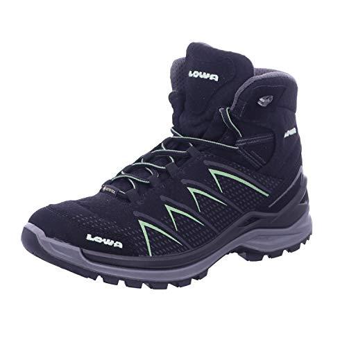 Lowa FERROX PRO GTX MID Ws Damen Wanderstiefel Trekkingschuh Outdoor Goretex schwarz, Schuhgröße:38 EU