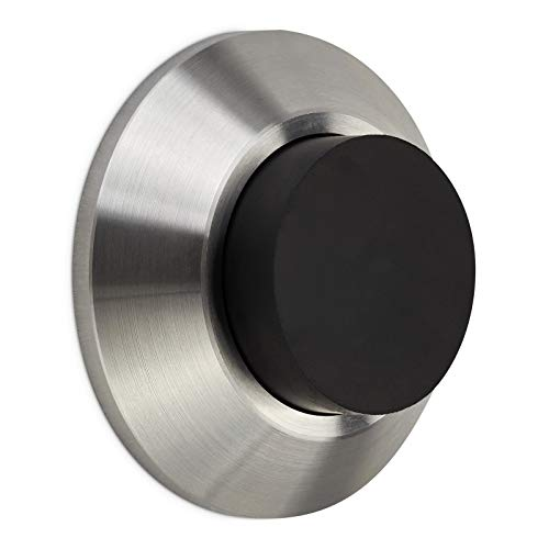 SO-Tech/® Tope de Puerta para Pared Topper Acero INOX /Ø 30 mm Distancia de la Pared 90 mm