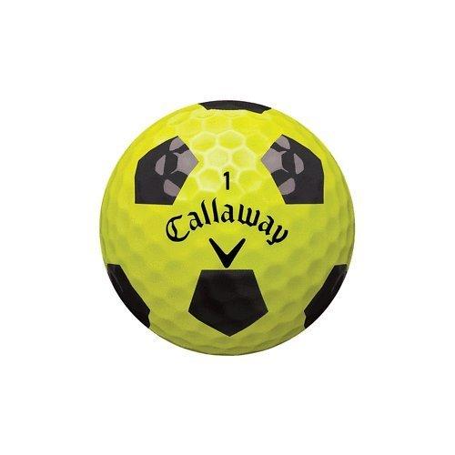 Callaway Golf Chrome Soft Truvis Prior Generation (Yellow/Black)