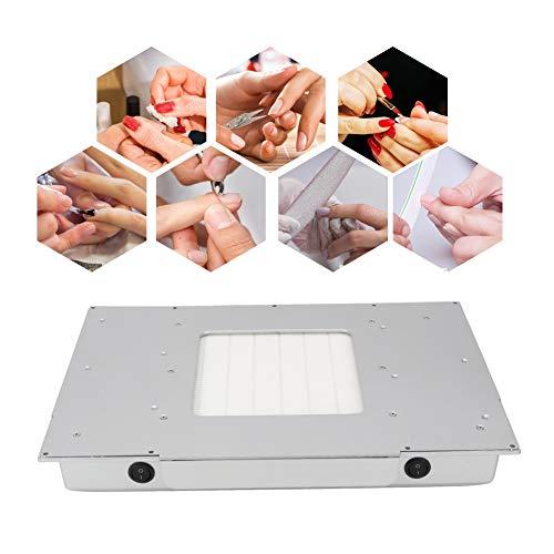 Qinlorgon 48W Desktop Nagel Staubsauger, High Power Desktop Embedded Filter ManiküRe PediküRe Kunst AusrüStung FüR Aslle NagelaktivitäTen Staubabsaugung Nagelstudio (QualitäTsprodukt)