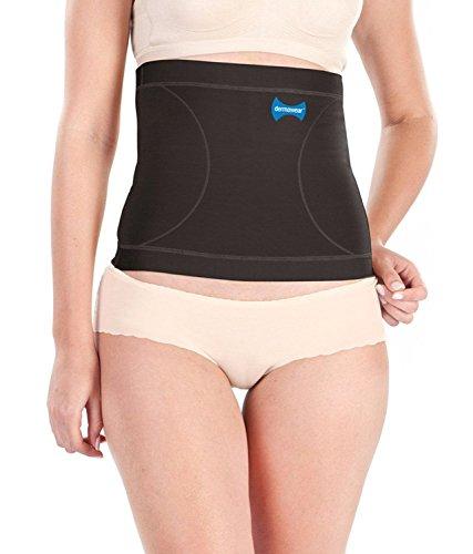Dermawear Women's Blended Tummy Reducer Shapewear (Black, 3XL)