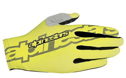 Alpinestars Youth F-Lite Gloves, Small, Acid Yellow Black