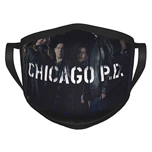 RDXX Chicago PD Lightweight Adult Fashion Playboi Carti Máscara Facial cómoda, Reutilizable, Adecuada para Hombres y Mujeres