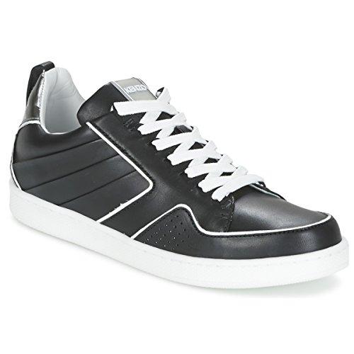 Kenzo K-Fly Sneaker Damen Schwarz/Silbern - 38 - Sneaker Low Shoes