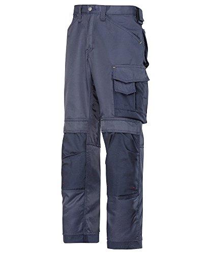 Snickers STC-NM245NA-36S 3312 Duratwill Hose ohne Holstertaschen, kurz, einfarbig, 52% Baumwolle/48% Polyamid, Größe 36, navy