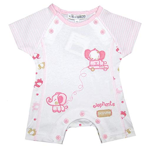 LianLiYa Boys Girls Baby My First Easter Day Outfit Pink Ears Bunny Rabbit 100/% Organic Cotton Long Sleeve Romper