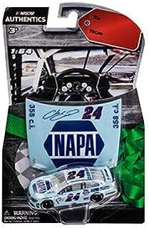 NASCAR Meijer's Holiday Wave Edition 2017 Authentics Chase Elliott #24 NAPA Darlington Throwback Paint Scheme 1/64 Scale with Bonus Collectors Plastic Hood